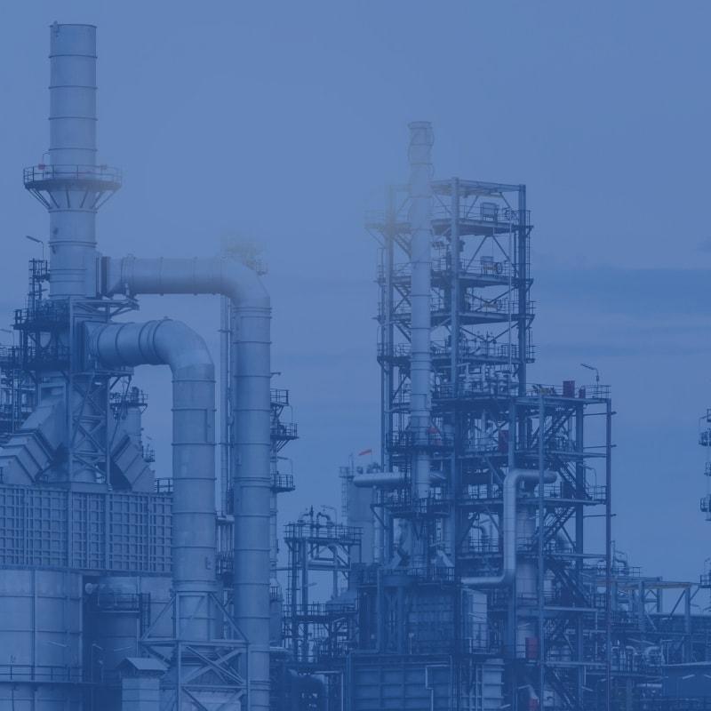 Raffinerie, Industrie und Handel