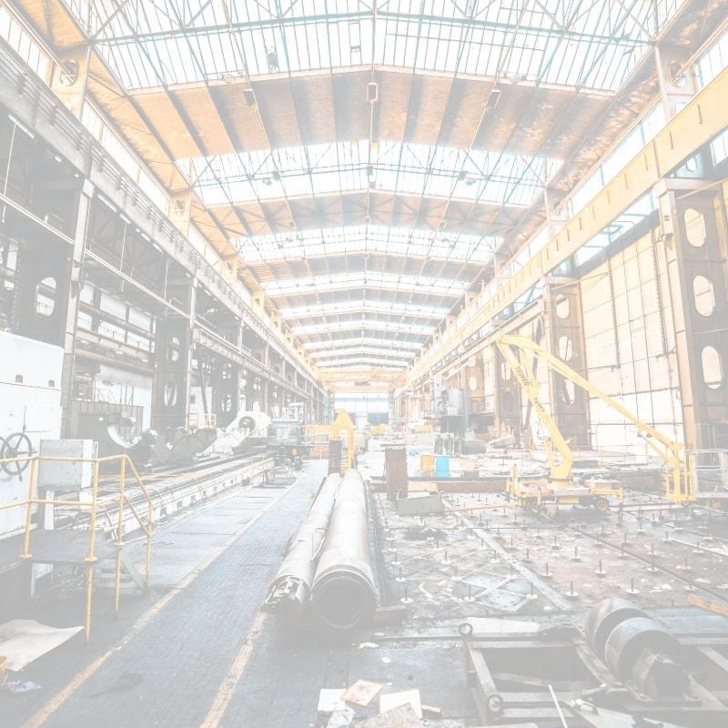 Industriehalle, Industrie und Handel