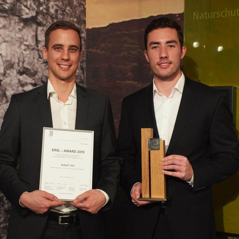Eifel-Award 2019 Gewinner BeMyPT