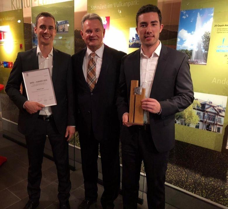 BeMyPT ist Eifel-Award Gewinner